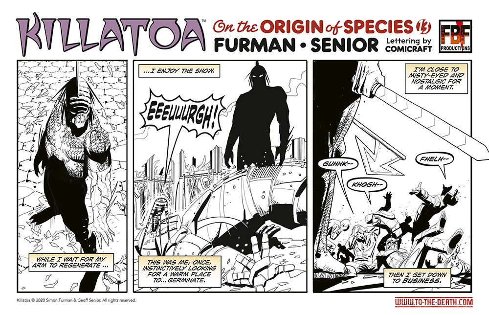 Killatoa daily strip 13
