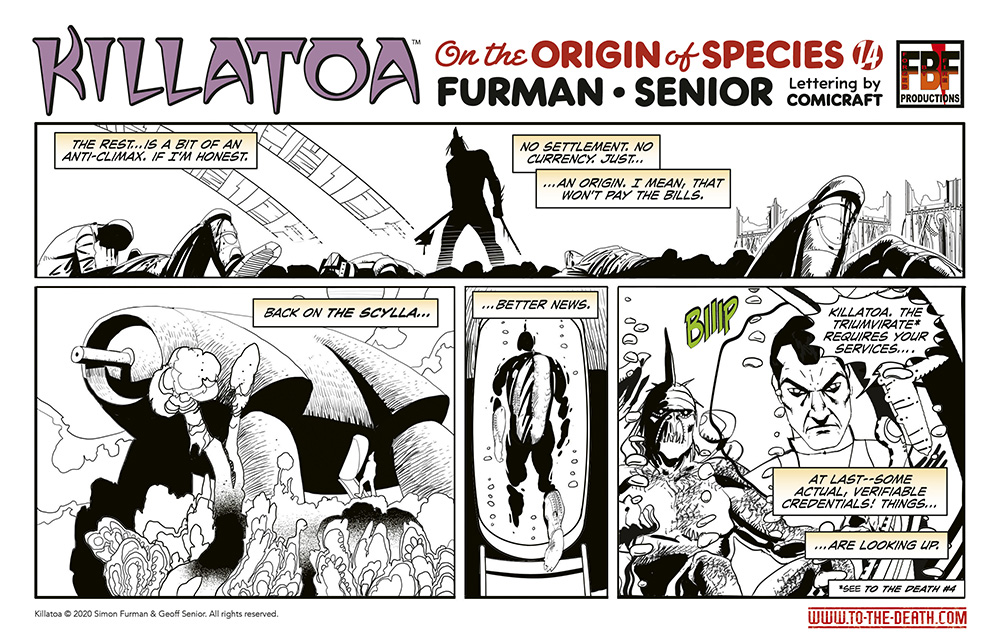 Killatoa daily strip 14