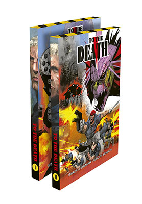 To The Death Volume 1 and 2 slipcase